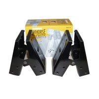 ソーホースブラケットMODEL300(2個1組:フルトン社ソーホースレッグ)「Medium Duty SPEE-DEE」【ブラック】