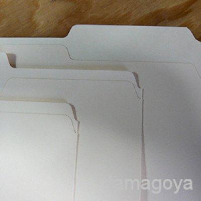 画像3: マニラフォルダ1/3カットタブ「レターサイズ」各タブ5枚(全15枚入り)