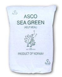 北欧産海藻粉末|アスコ・シーグリーン|20-60メッシュ【25kg】海のミネラルで品質向上 [Kelp Meal]【有機JAS適合資材】