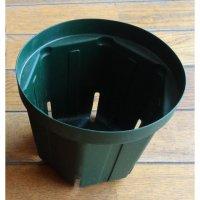 スリットポット 5号鉢 CSM-150【10個】モスグリーン|外径15cmx底径11cmx高さ12.5cm|容量 1.4L