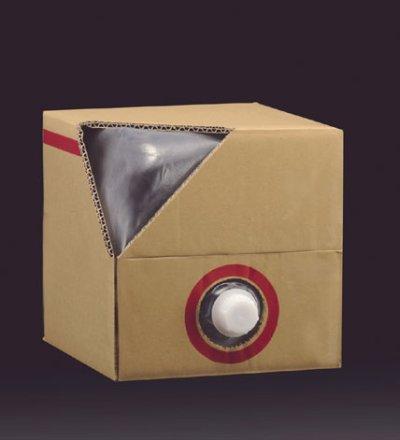 画像2: [品薄]キュービ容器20Lセット(外箱ダンボール+テナー容器+キャップ)