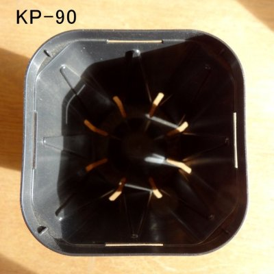 画像3: スリットポット(KP-90)90mm・容量272ml(ブラック)[納期1週間以上]【1920個入り】