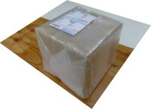 詳細写真1: キュービ容器20Lセット(外箱ダンボール+テナー容器+キャップ)