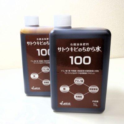 有機液体肥料-サトウキビのちから水100