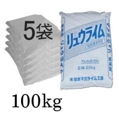 粒状・消石灰「リュウライム」【100kg(20kgx5袋)】