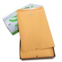 アメリカのクラフト封筒【Kraft Clasp Envelope】10 x 13インチ(254x330mm)【100枚入り/箱】Quality Park QUA37797