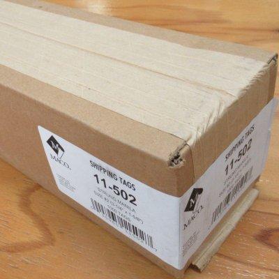 マニラタグ#2 maco11-502(紐付き荷札1000枚入り)