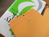 アメリカのクラフト封筒【Kraft Clasp Envelope】10 x 15インチ(254x381mm)【100枚入り/箱】Quality Park QUA37798