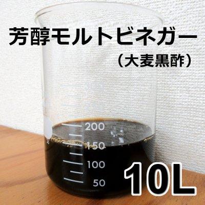 画像1: [軽]芳醇モルトビネガー(大麦黒酢)《酸度4.1%》【10L】