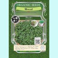 【有機種子】ブロッコリー  / スプラウト  【大袋370g】Broccoli : Sprout