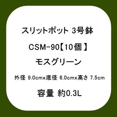 スリットポット 3号鉢 CSM-90【10個】