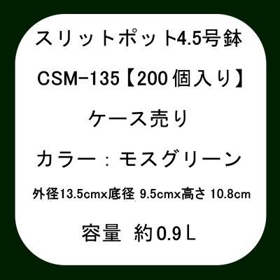 スリットポット 4.5号鉢 CSM-135
