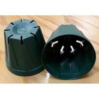 スリットポット 3号鉢 CSM-90【10個入り】モスグリーン|外径 9.0cmx底径 6.0cmx高さ 7.5cm|容量 約0.3L