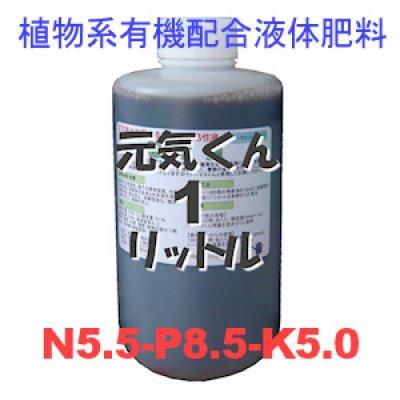元気くん(5.5,8.5,5.0)植物系有機液体肥料