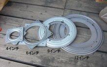 詳細写真2: レイジースーザンターンテーブル(4インチ[100mm]角型ベアリング回転盤 USA-Triangle社)【配送時間指定不可】
