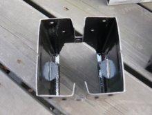 詳細写真2: ソーホースブラケットMODEL300(2個1組:フルトン社ソーホースレッグ)「Medium Duty SPEE-DEE」【ブラック】