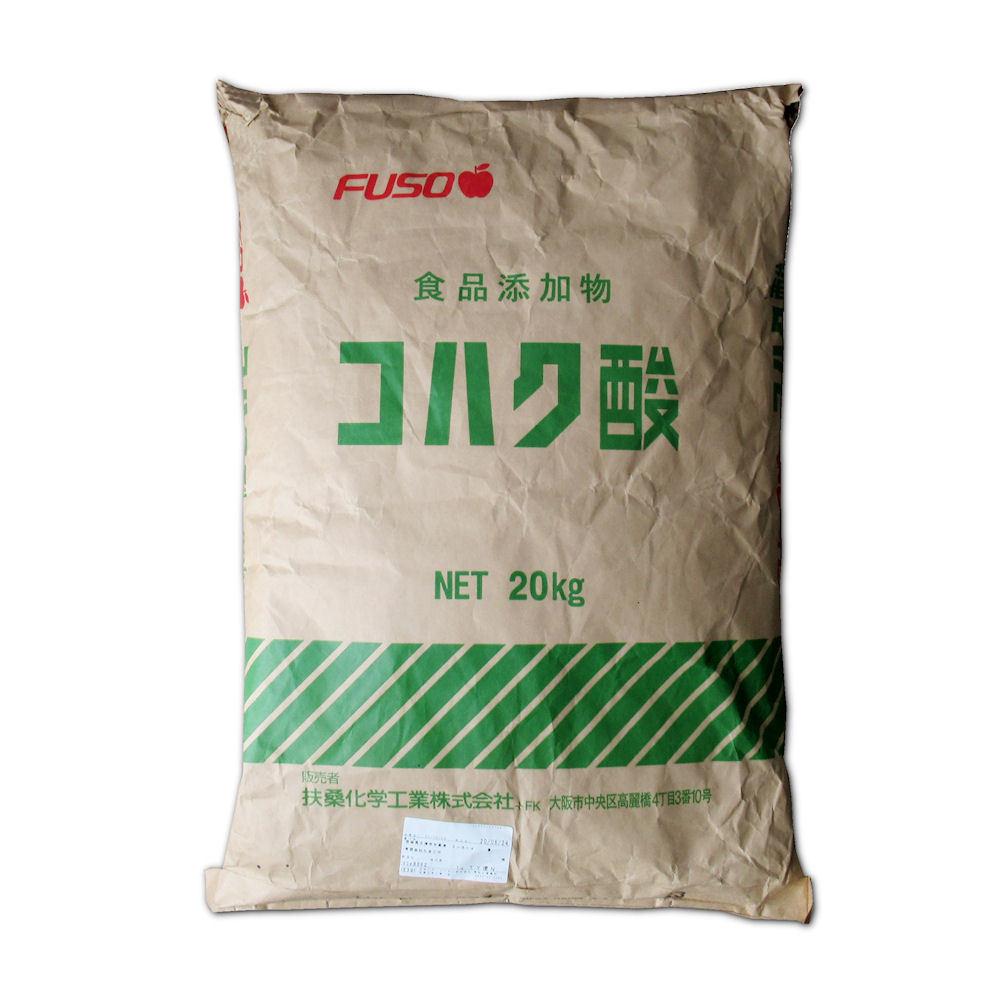 軽]コハク酸【20kg】Succinic Acid|扶桑化学・食品添加物グレード ...